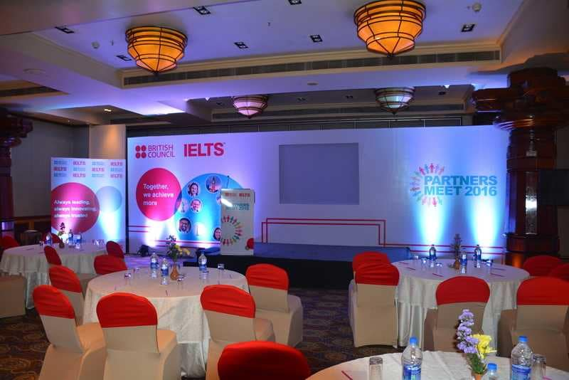 corporate event planning for business partners meet
