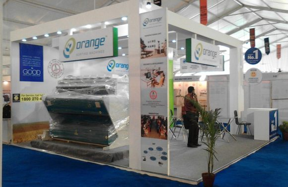 Corporate Exhibition Stall Design & Fabrication