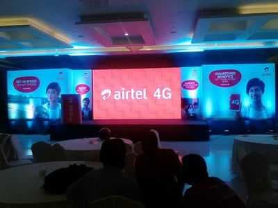 Corporate event planning & arrangements for airtel