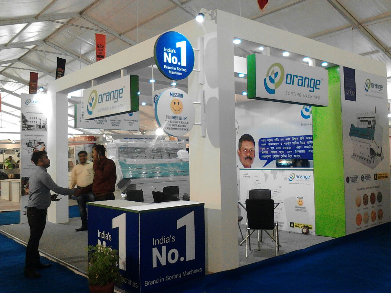 Large Exhibition Stall : Importance of exhibition stall fabricators corporate events