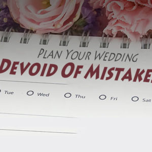 Plan Your Wedding Devoid Of Mistakes!